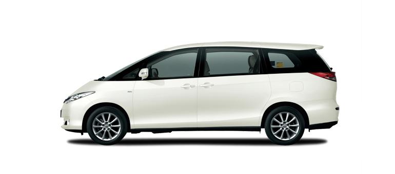 Toyota Previa Colours